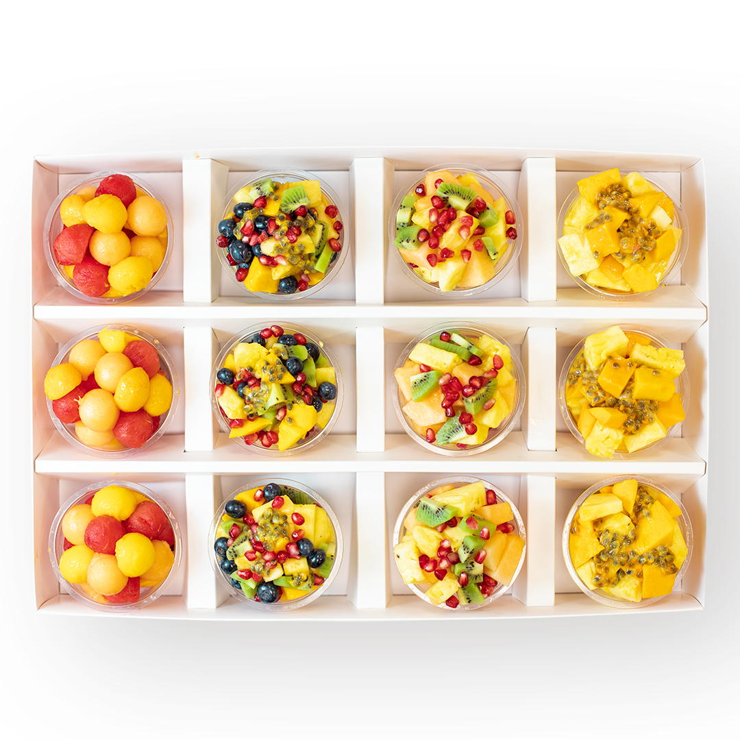 Fruit Cup Selection - Box of 12