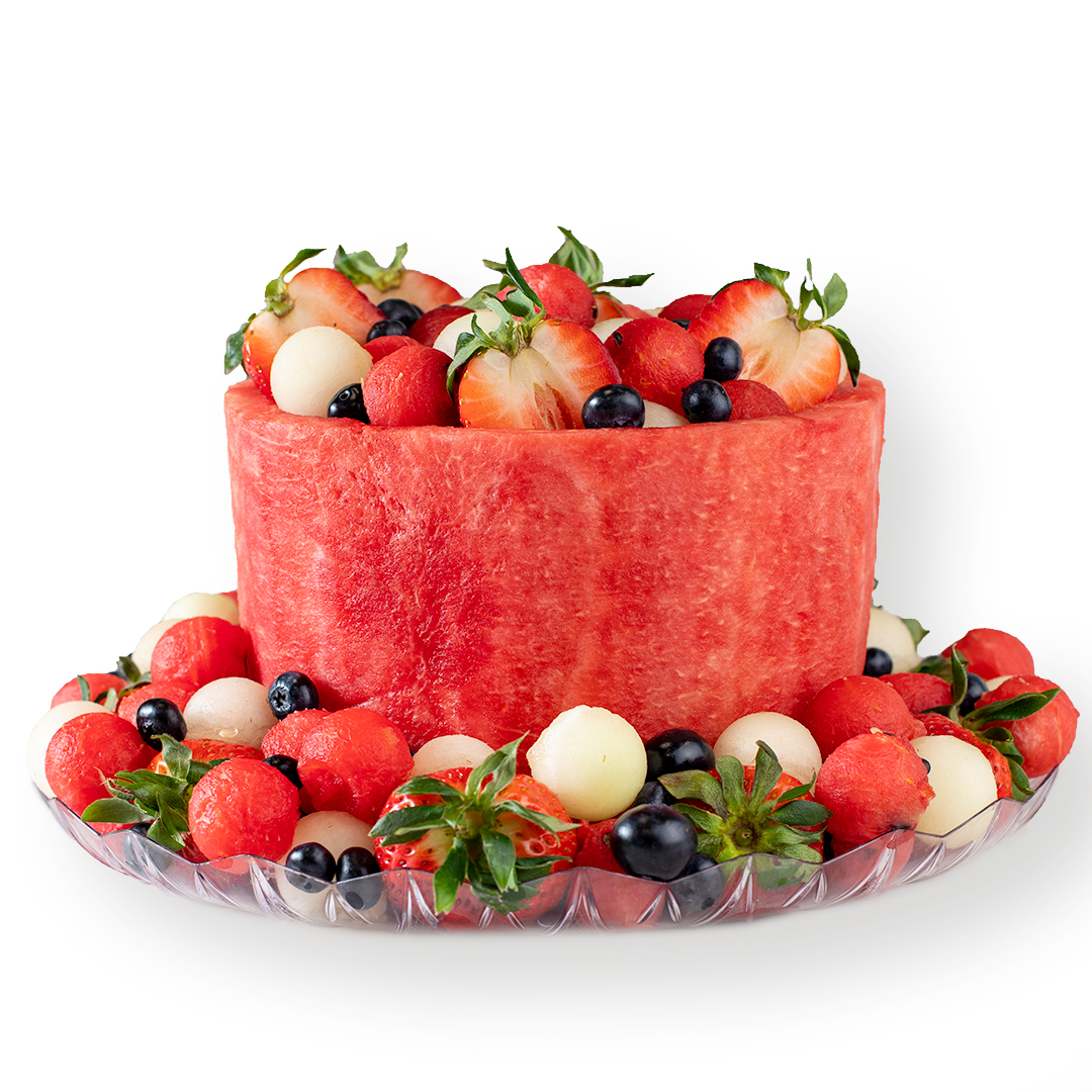 Melon Cake 1-Tier