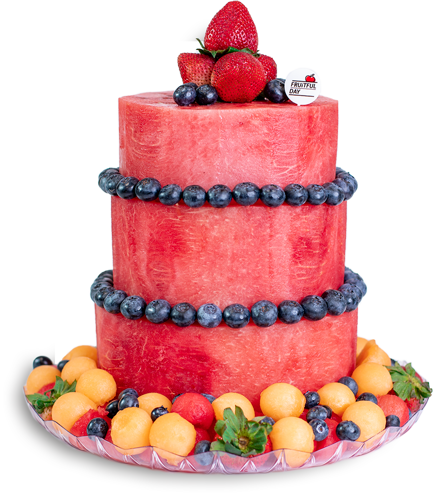 Melon Cake 3-Tier