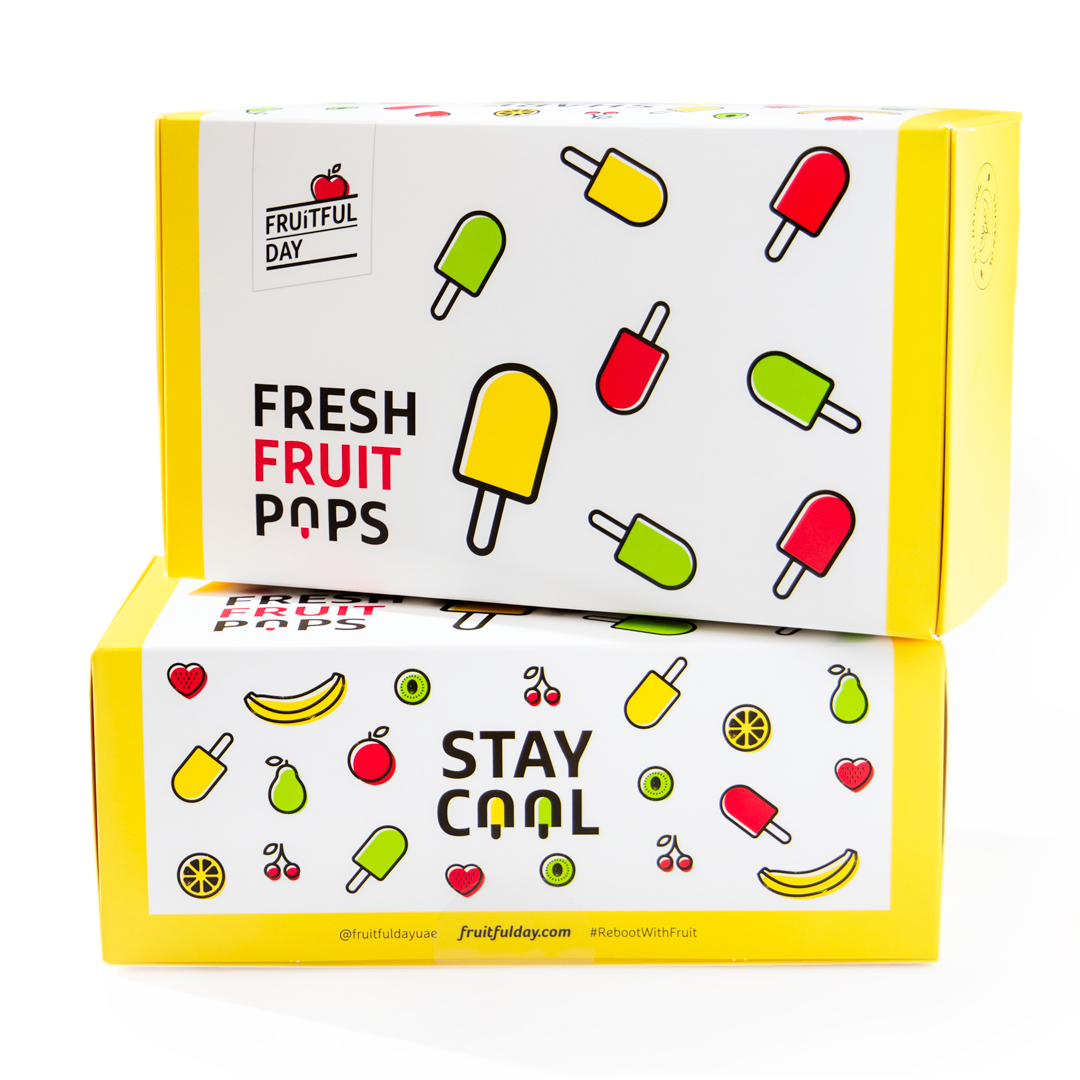 Fresh Fruit Pops (Box of 10)