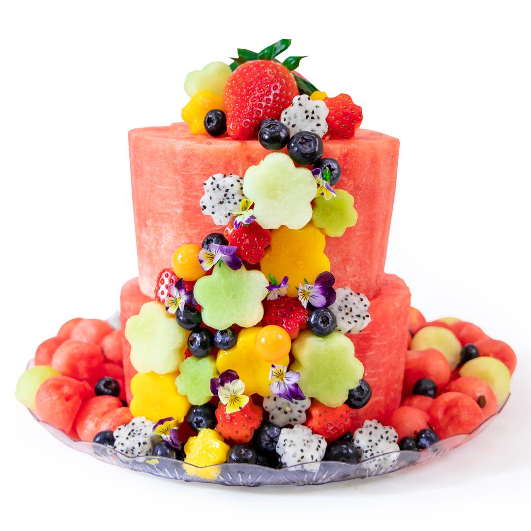Flower Cake 2-Tier