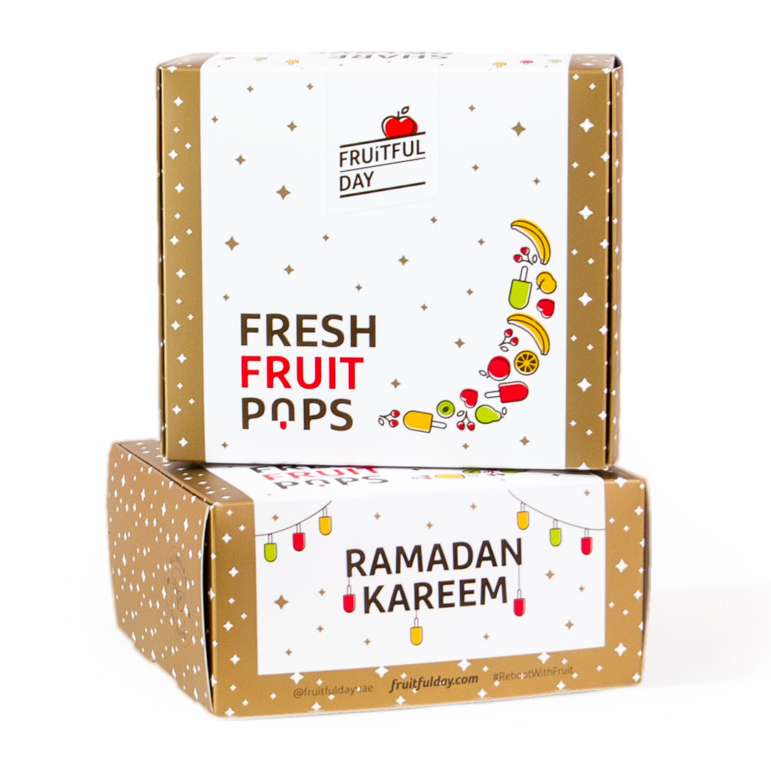 Ramadan Fresh Fruit Pops (box of 6)